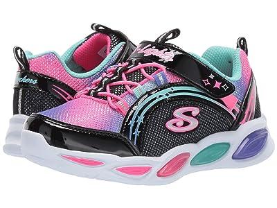 SKECHERS KIDS Shimmer Beams 20269L (Little Kid/Big Kid) (Black/Multi) Girls Shoes