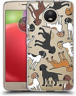 Head Case Designs 繧、繝ウ繧ー繝ェ繝・す繝・繝昴う繝ウ繧ソ繝シ 繝峨ャ繧ー繝悶Μ繝シ繝峨・繝代ち繝シ繝ウ 13 Motorola Moto E4 蟆ら畑繧ス繝輔ヨ繧ク繧ァ繝ォ繧ア繝シ繧ケ