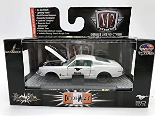 M2 Machines Detroit-Muscle 1968 Ford Mustang Cobra Jet 1:64 Scale MT01 14-36 White/Black Details Like NO Other! Over 42 Parts 1 of 5000