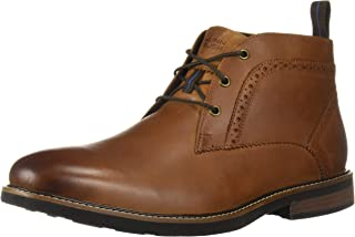 Nunn Bush Men's Ozark Plain Toe Chukka Boot with Kore Comfort Technology