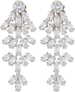 Marquise CZ Chandelier Earrings