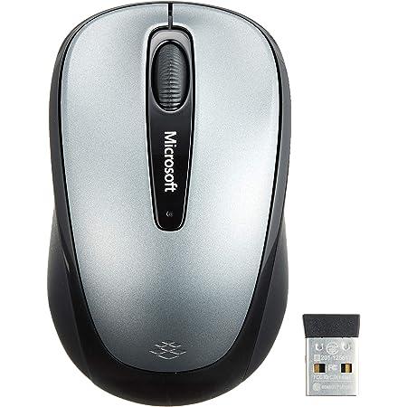 マイクロソフト マウス ワイヤレス/小型 グレーWireless Mobile Mouse 3500 GMF-00423