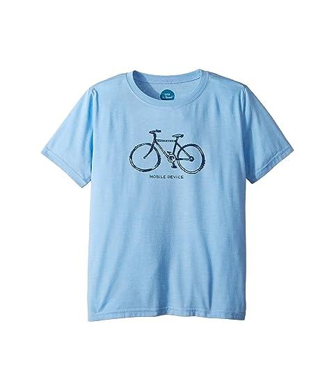 6324b1a78a3 Life is Good Kids Mobile Device Bike Cool T-Shirt (Little Kids Big ...