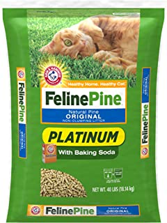 feline fresh natural pine cat litter 20 lbs