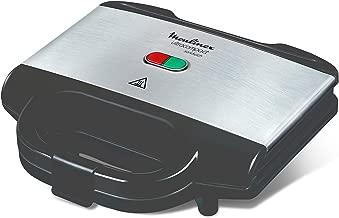 Moulinex SM156D Ultracompact Metal Sandwich Maker, Piastre con Rivestimento Antiaderente