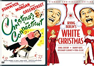 White Connecticut Christmas & Irving Berlin White Christmas Diamond edition Classic Double Feature Holiday Movie Set