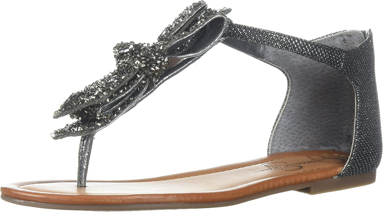 Jessica Simpson Wouomo KELLISE Flat Seal Pewter 11 Medium US