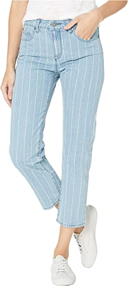 Like A Boy Striped Denim Pants