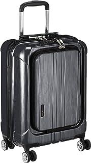 [アクタス] スーツケース ジッパー フロントオープン ポライト 機内持ち込み可 74-20340 35L 53.5 cm 3.2kg