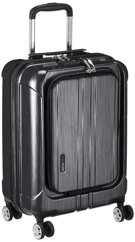 振り向くカビアジア人[アクタス] スーツケース ジッパー フロントオープン ポライト 機内持ち込み可 74-20340 35L 53.5 cm 3.2kg