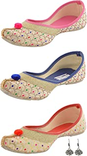 Babes Women's Mojaries, 5 UK(Multicolour) - Pack of 3