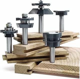 MLCS 8391 Shaker Raised Panel Door Cabinetmaker Set, 5-Piece