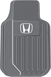 Plasticolor 001615R25 Grey Floor Mat Set, 2 Piece (Honda Elite)