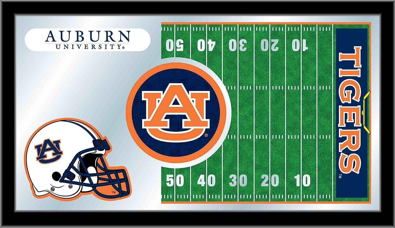 Holland Bar Stool NCAA Auburn Tigers 15 x 26-Inch Football Mirror