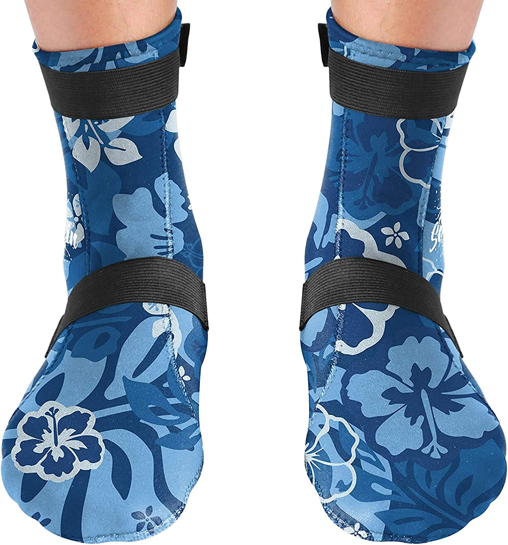 BPS High Cut /& Low Cut 3mm Neoprene Socks for Water Sports /& Excercise Unisex