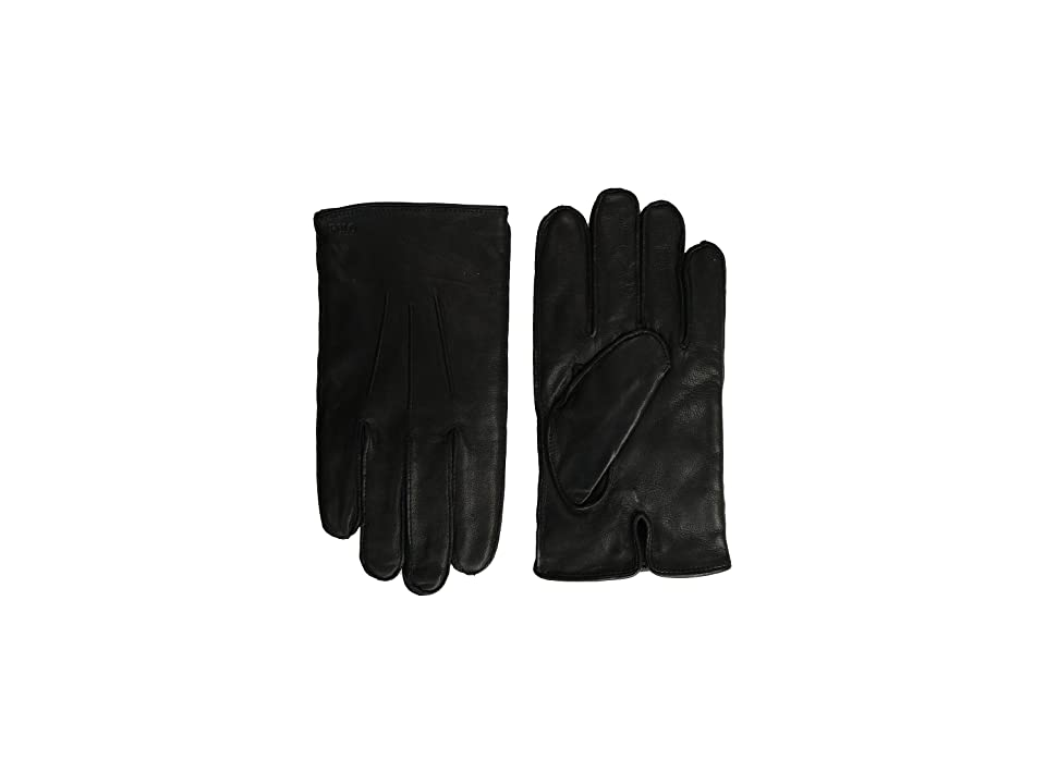 Polo Ralph Lauren Everyday Nappa Gloves (Black) Extreme Cold Weather Gloves