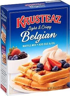 Krusteaz Belgian Waffle Mix, 28 oz, (Pack of 1)