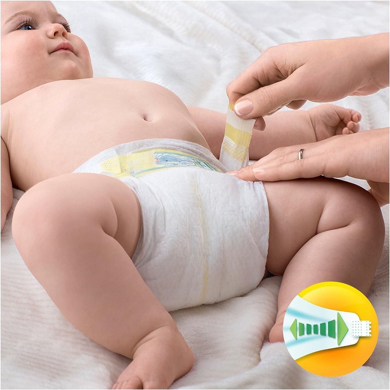 Pampers Premium Protection Pa/ñales para Beb/és - 50 pa/ñales 5-9 kg Talla 3