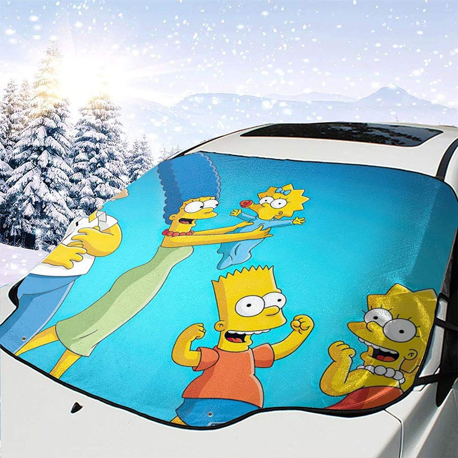 AMYHERFORD The Simsns Windshield Cover 67% OFF of fixed price Tulsa Mall Snow Car Visor