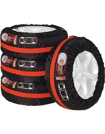 Housse de roue de secours noire pour auto voiture 4x4 caravane camping car utilitaire pour taille 195//75R16