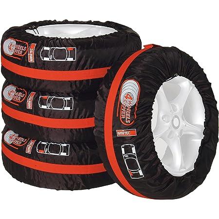 Unitec 75555 Lot de 4 Housses de pneus