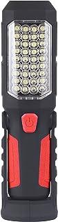 WOLFTEETH 36 LED Torch Lamp Camping Work Light Flashlight Lantern for Auto Emergencies Workshop Attic with Magnet Base,Adj...