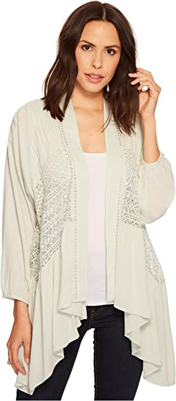 Sheer Long Sleeve Cardigan