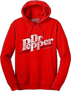 Dr Pepper Hoodie - Cherry Red Hooded Dr. Pepper Sweatshirt