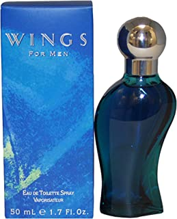 Wings by Giorgio Beverly Hills for Men Eau de Toilette Spray 1.7-Ounce