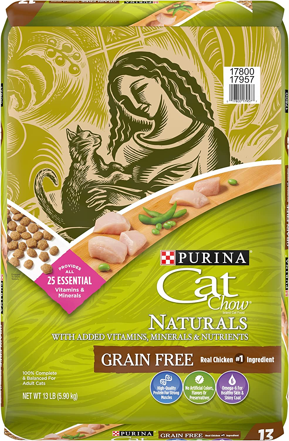 Fixed price for sale Purina Cat Chow Naturals Grain-Free Adult Dry Real Translated Chicken with