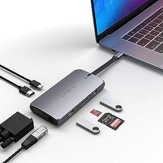 Satechi On-The-Go マルチ USB-Cハブ 9-in-1 (MacBook Pro, 2018 MacBook Air2018以降, 2020 iPad Air, iPad Pro, M1 iMac 24インチなど対応)