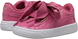 Puma Kids - Basket Heart Patent Gold (Toddler)