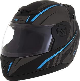 Pro Tork Capacete Evolution G6 Pro Neon Fosco 60 Preto/Azul