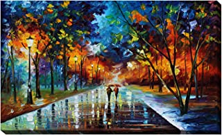 Picture Perfect International Giclee Stretched Wall Art by Leonid Afremov Winter Park Artists-Canvas 28