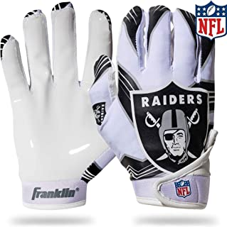 oakland raiders football gloves