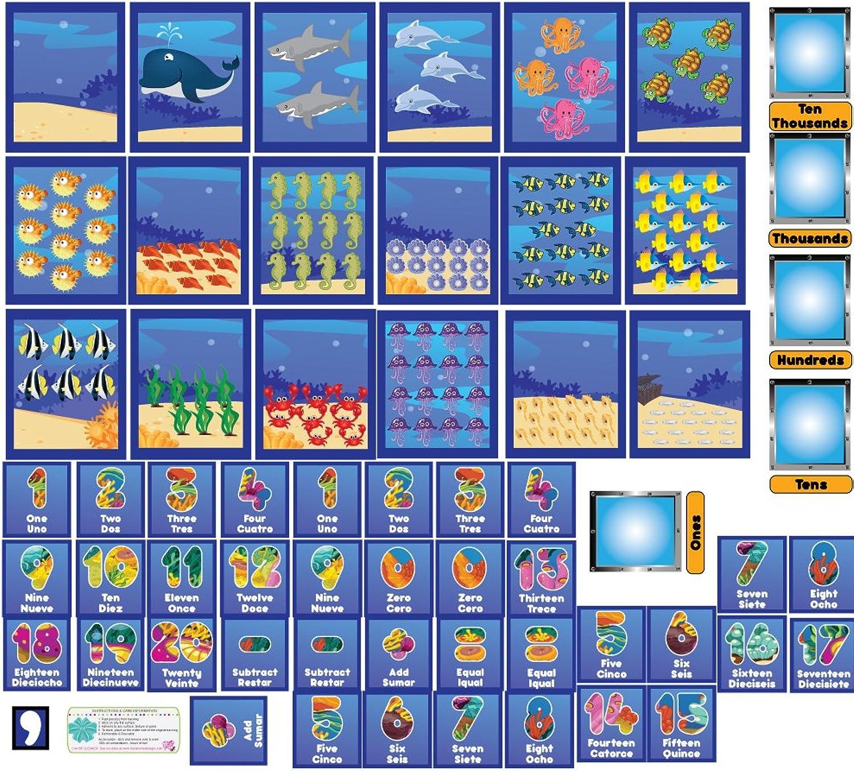 Mona Melisa Designs PPHALFNUMBERS Peel, Play and Learn Wall Play Set, Numbers