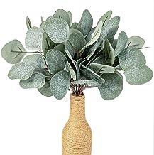 10 stuks 30cm Kunstmatige Eucalyptus Takken Planten Silver Dollar Leaves Spray Greenery Bushes Fake gezaaid Stem for zcaqt...