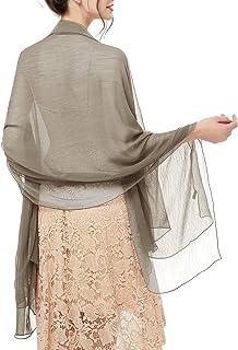 bridesmay Damen Strand Scarves Sonnenschutz Schal Sommer Tuch Stola für Kleider in 29 Farben