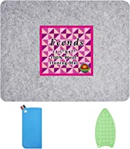 1//2 Thick Quilting Ironing Pad COYMOS Wool Pressing Mat 17 x 13.5 Portable Felted Wool Ironing Mat for Sewing Embroidery DIY Crafts