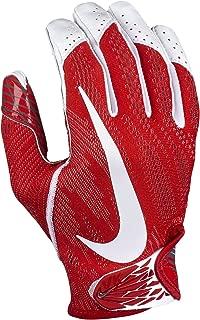 Adult Vapor Knit 2 Receiver Gloves Size Medium (ReD, White, Grey)
