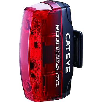 キャットアイ(CAT EYE) セーフティライト RAPID micro AUTO TL-AU620-R ライト 自転車