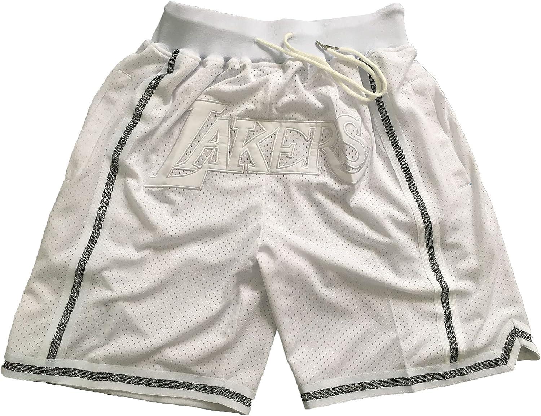 Nippon regular agency HIRTS Lakers Chicago Mall Game Shorts Embroidery Pocket Basketball Sh Version