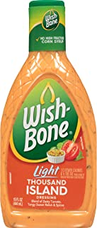 Wish-Bone Salad Dressing, Light Thousand Island, 15 Ounce