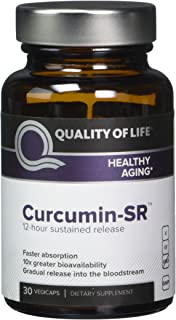 Quality of Life Curcumin-sr 30 Veggie Capsules, 0.03 Pound