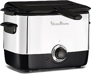 Moulinex, Minifrito, classique, 1 L, 600 de frites, Jusqu'à 4 personnes, 150 °C à 190 °C, Compact rangement, Hublot de con...