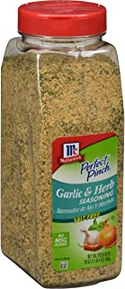 McCormick Perfect Pinch Garlic and Herb Salt-Free Seasoning, 19 oz
