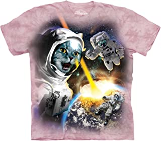 cat in space shirt
