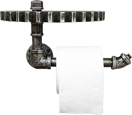 A Sharplace /Étag/ère Fix/ée Au Mur De Support De Serviette De Mur Papier Hygi/énique Industriel Rustique