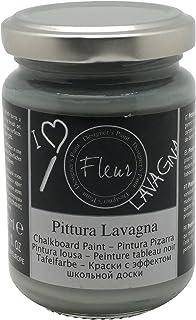 Fleur Paint 11107 - Pintura (transforma superficies en pizarra, 130 ml) color smoky