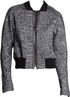 charcoal grey tweed jacket
